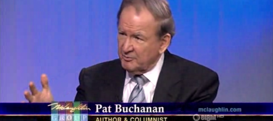 "Pat Buchanan: Trump is Making the Other Republican Presidential Candidates Look Like ""Wimps"""