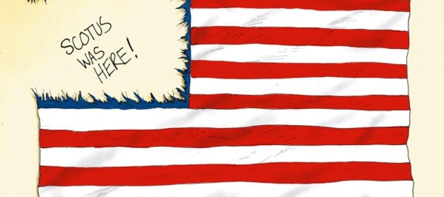 SCOTUS States' Rights (Cartoon)
