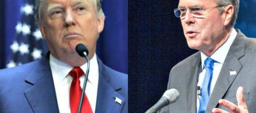 Right Wing News Survey: If you had to vote today — Donald Trump or Jeb Bush?