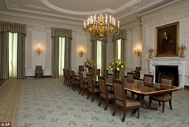 WH State Dining Room