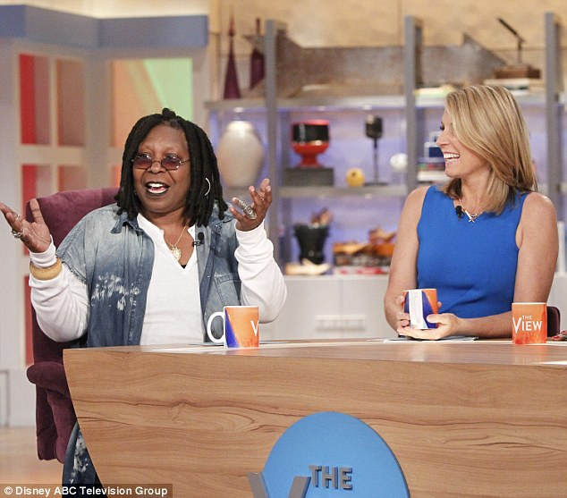 Backing him up: Whoopi Goldberg downplayed the revelation that Bill Cosby admitted to giving a woman Quaaludes in 1 2005 deposition on The View Tuesday.