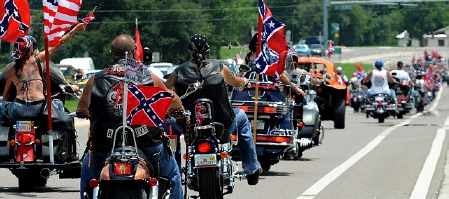 4,500 Confederate Flag Supporters Create an EIGHT-MILE Convoy to Protest Left's Smear Campaign
