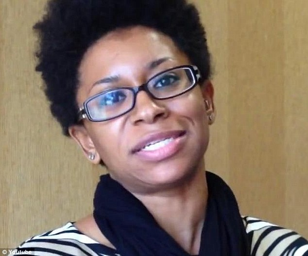 Zandria Robinson controversially tweeted that she didn't want her daughter to go to a school with 'snotty privileged whites' while teaching sociology at the University of Memphis in Tennessee.