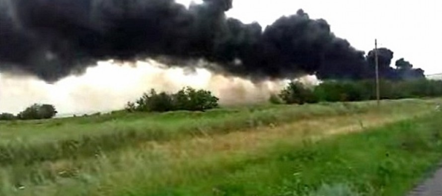 Harrowing New Video Captures The Moment Traumatized Couple Watch MH17 Victims Fall From The Sky