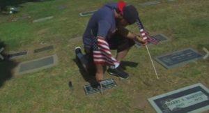 american flags veterans
