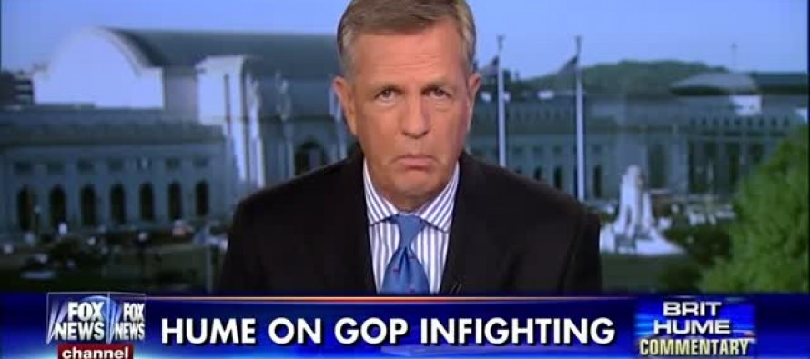 I've Lost a Little Respect for Fox News' Brit Hume After This Attack on Ted Cruz