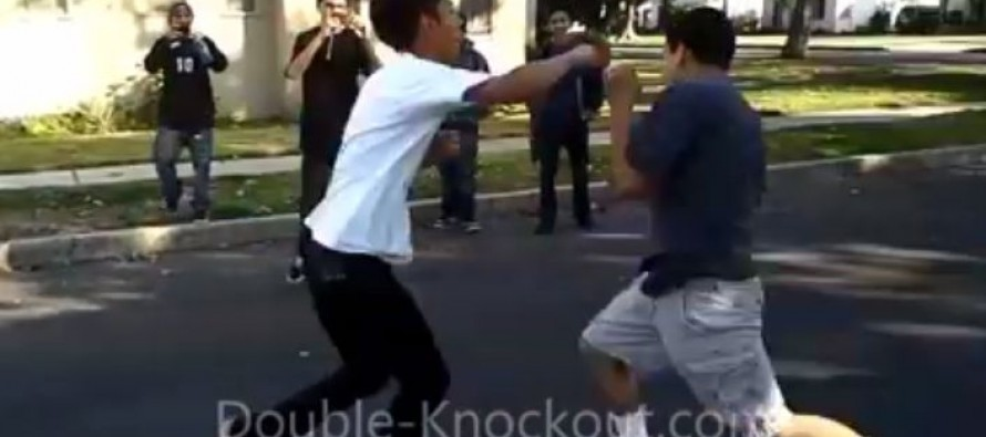 Video: This Kid Can Throw Hands!