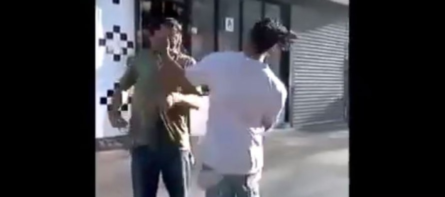 Video: Guy Gets Sucker Punched and Comes Back Hard