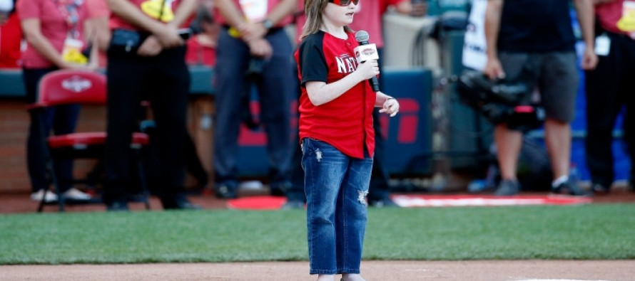 A Blind Teen Delivers a Rendition of the National Anthem at Home Run Derby Sure to Give You the Chills