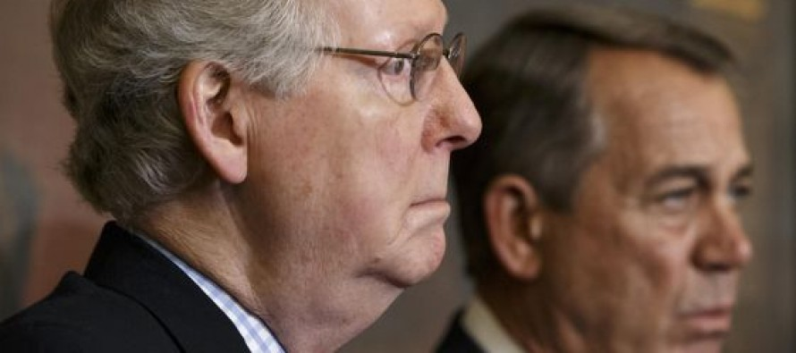 These two clowns, Boehner and McConnell, have already damaged the Republican brand infinitely more than anything Trump has done