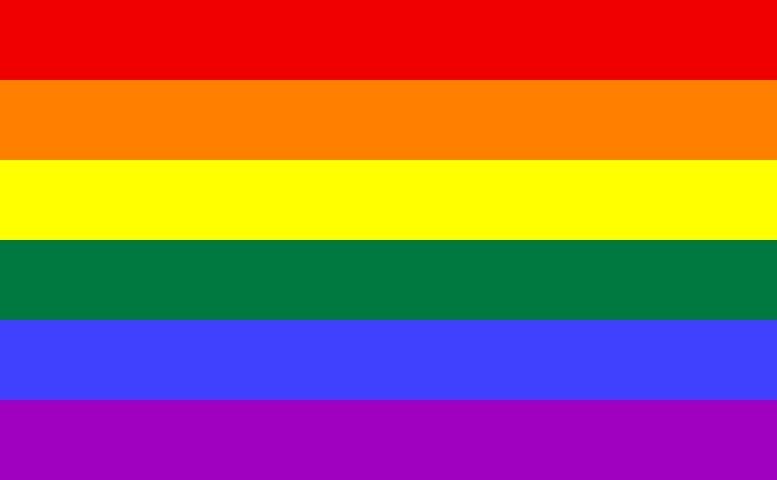 rainbow, gay pride flag