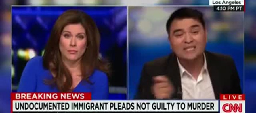 Illegal Immigrant Who Doesn't Want ICE to Deport Him, Blames ICE for Not Deporting Murderer