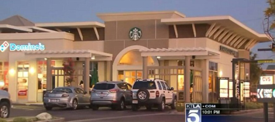 Mother outraged as son, 5, discovers hidden camera in Starbucks bathroom