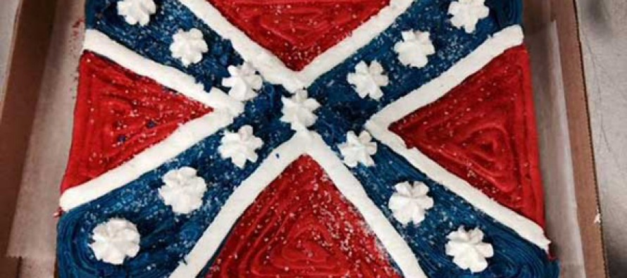 Virginia bakery taking orders for Confederate flag cake