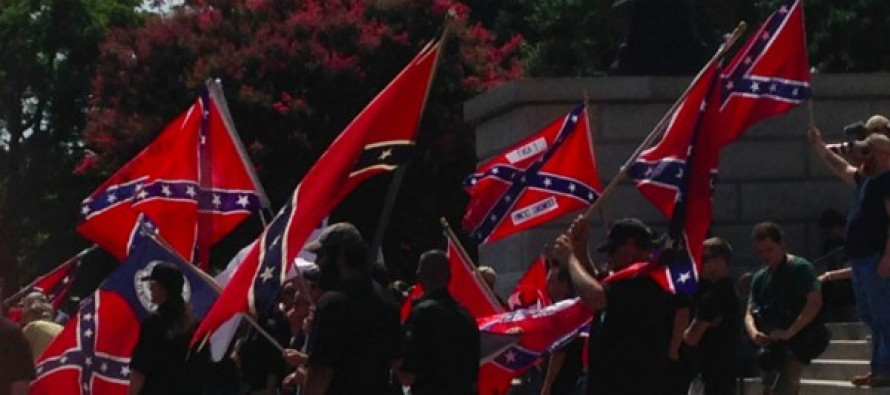 KKK Faces Off With New Black Panther Group in Heated, Competing Rallies in South Carolina