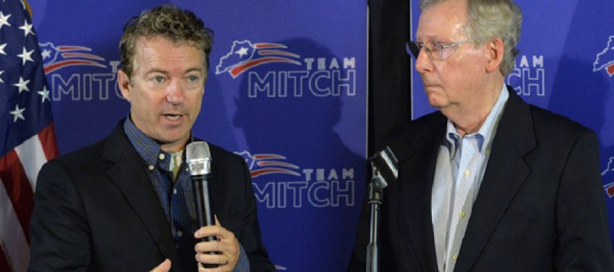 Rand Paul defies Mitch McConnell to defund Planned Parenthood