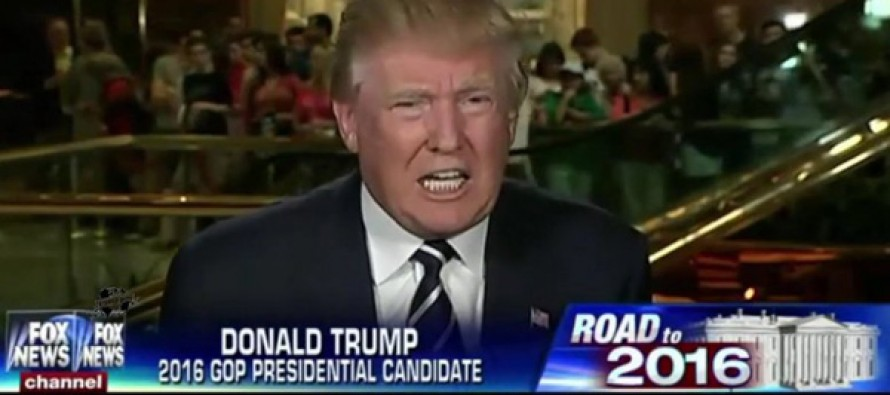 [VIDEO] Donald Trump: Send Illegal Immigrants Home!… You Either Have Laws Or You Don't Have Laws.