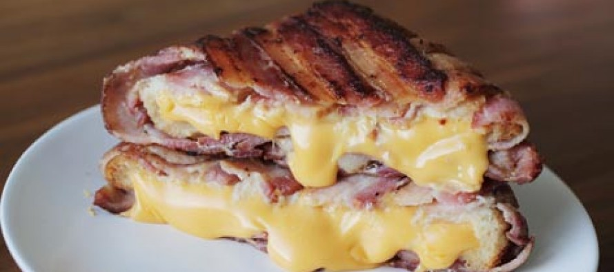 VIDEO: Bacon wrapped grilled cheese is something you need to know how to make