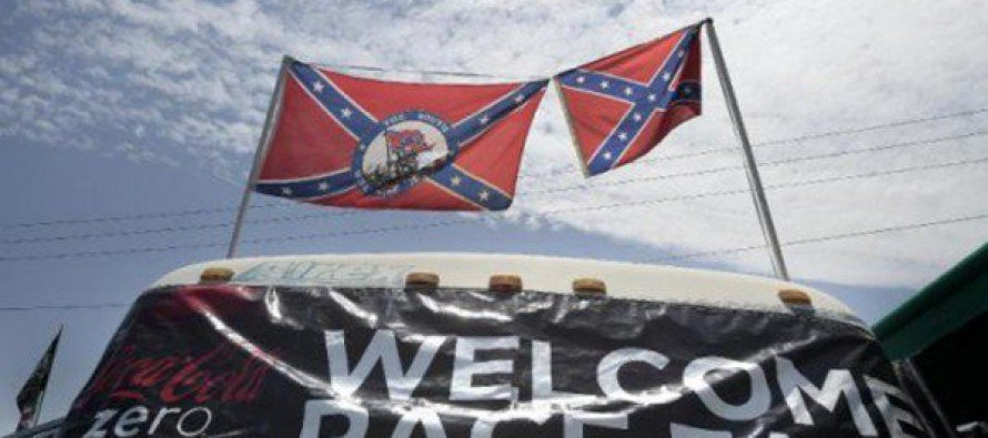 Racing Fans Defy NASCAR, Fly Confederate Flags At Daytona…
