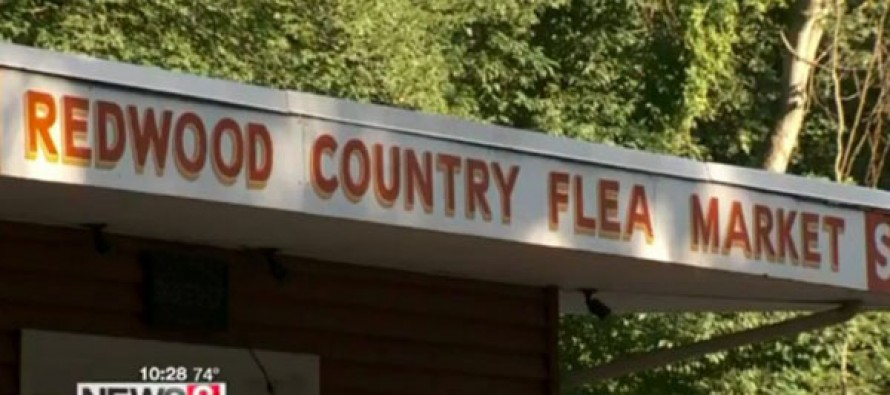 Upset by Confederate and Nazi Items at Flea Market, Shopper Gets Police Involved