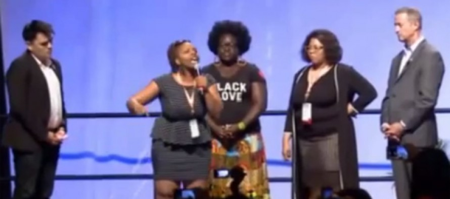 VIDEO: Liberals scream & call each other racist at big Netroots Nation conference