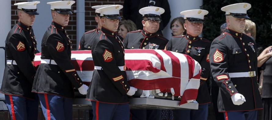 Thousands line the streets to pay their respects to murdered Chattanooga marine