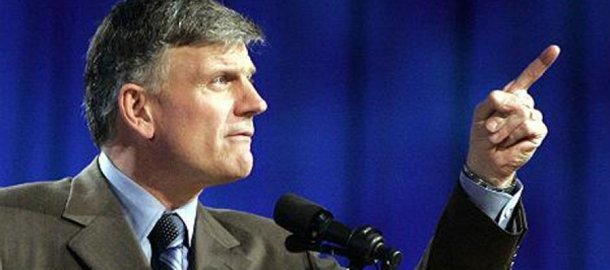 Franklin Graham Slams Oregon After Bakers Are Fined $135k For Refusing To Bake Gay Wedding Cake