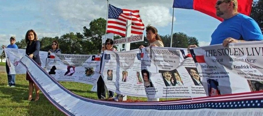 A Mother Whose Son Was Murdered by a DREAMer Illegal Alien Breaks Down in Rally Speech