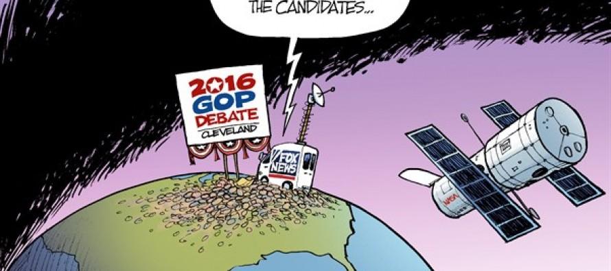 First GOP Debate (Cartoon)