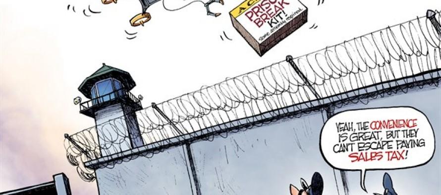 Prison Delivery (Cartoon)