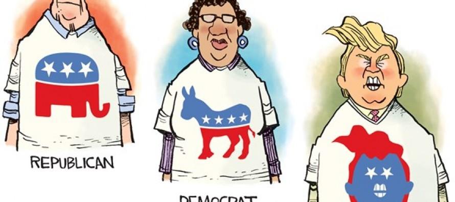 Trump Party (Cartoon)
