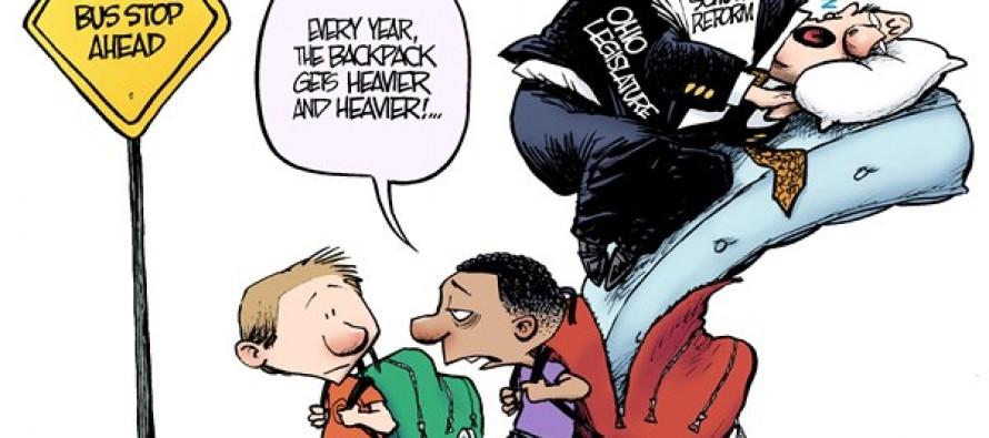LOCAL OH – Back to School (Cartoon)
