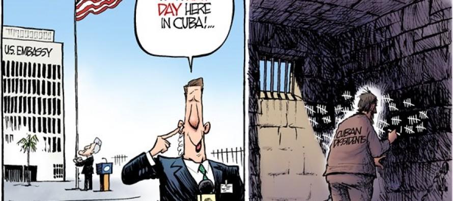 Cuban Embassy (Cartoon)