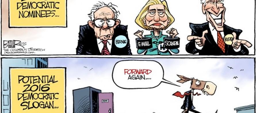 Democratic Candidates (Cartoon)