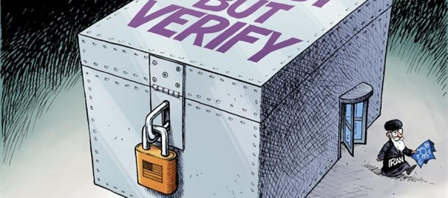 Iran Boxed In (Cartoon)