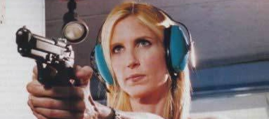 [VIDEO] Ann Coulter Hits the Gun Range with Liberals!