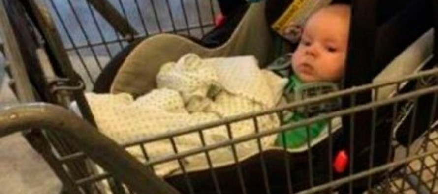 [VIDEO] Outrage as Mom is Charged for Leaving Her Baby in a Cart at the Store and Driving Home Without Him