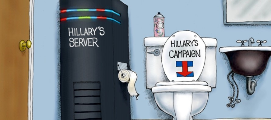 Hillary Server Scandal (Cartoon)