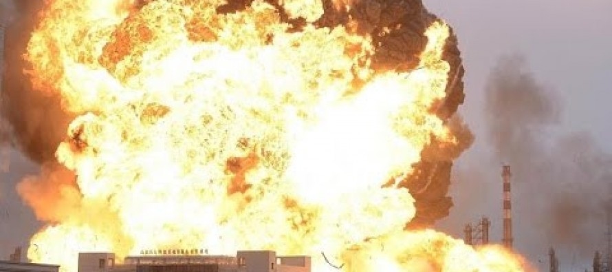 China Stunned by Second Massive Explosion in Ten Days at Another Chemical Plant [Video]