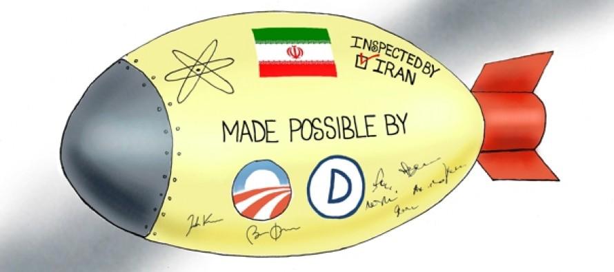 Iran Nuclear Inspections (Cartoon)