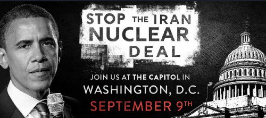 Donald Trump and Ted Cruz Join Forces to Protest Suicidal Iran Deal in DC