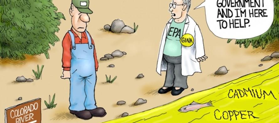 EPA Polluted Rivers (Cartoon)
