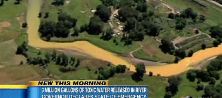 Letter to Editor PREDICTED COLORADO EPA RIVER SPILL One Week Before Catastrophe
