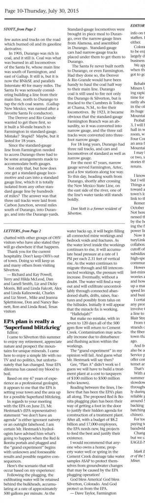 EPA Spill