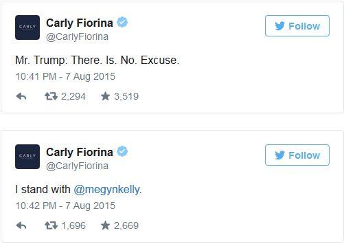 Fiorina Trump