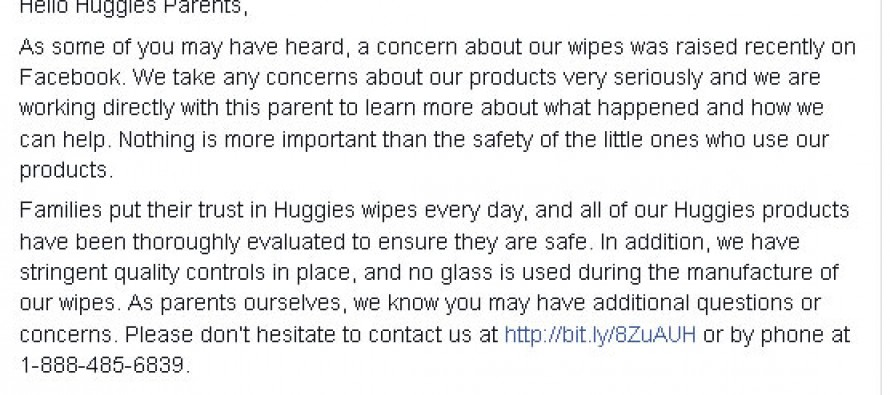 Mom finds something horrific in top name brand baby wipes — and there's other moms who have too