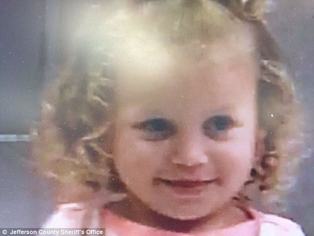 Jettie Ray Adams (above) of Trafford, Alabama, died Monday morning shortly after she was found unconscious in a pool of her own vomit.