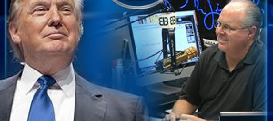 Limbaugh Speaks Out: 'This Trip Shows the Real Trump Free of Media Distortion!'