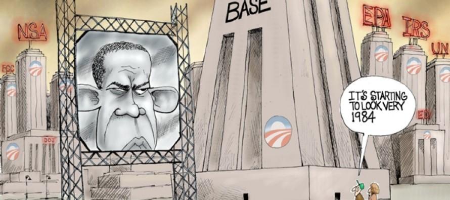 Obama 1984 (Cartoon)