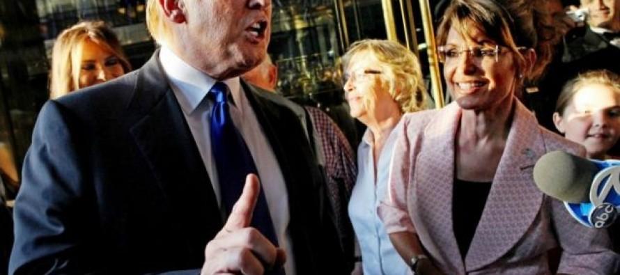 'Thank God That He's Running'  – Sarah Palin on Donald Trump